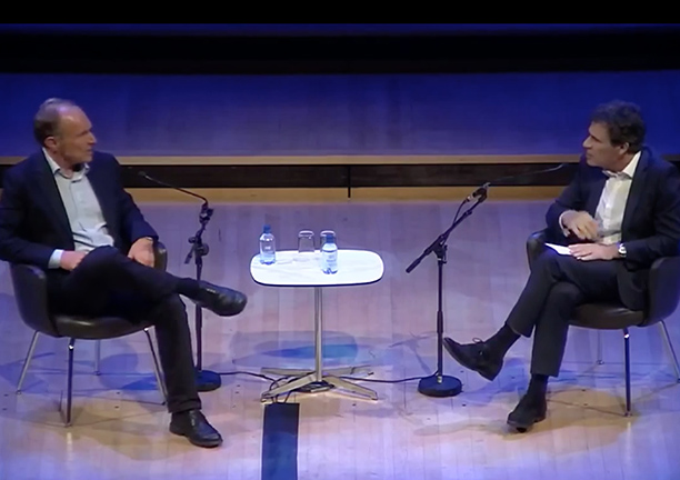Richard Susskind in conversation with Sir Tim Berners-Lee